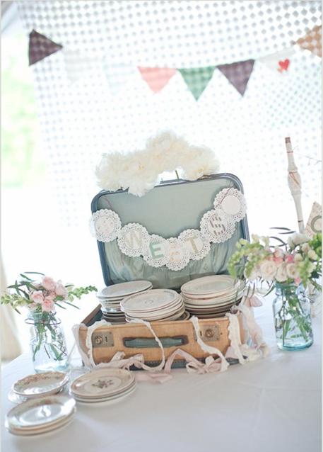 La chica del malet n maletas vintage llenas de amor - Decoracion vintage hogar ...