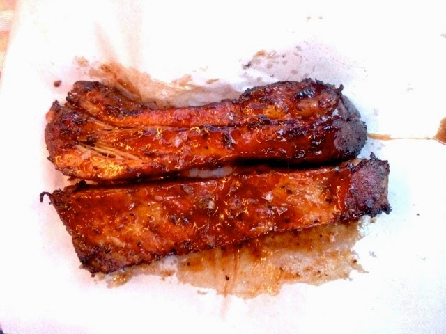 St Louis ribs from the Smokestak