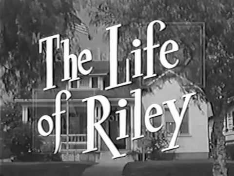 The Life of Riley tv series/show starring William Bendix