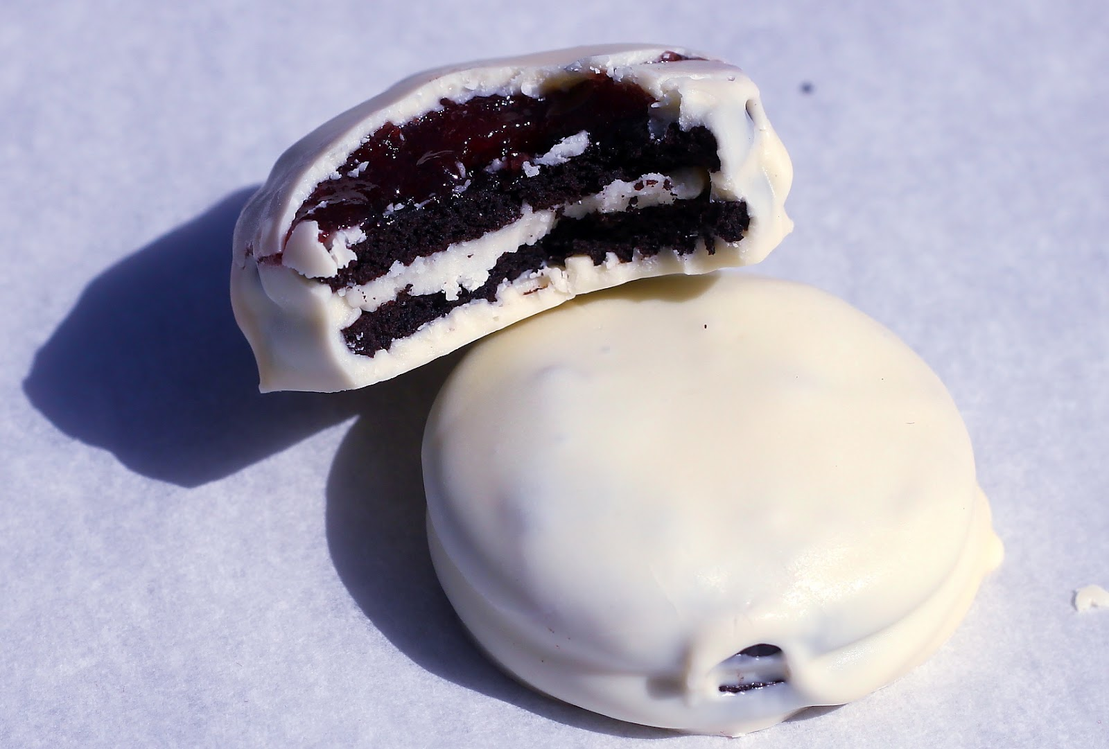 ... from the Cody Kitchen: White Chocolate Covered Black Cherry Oreos