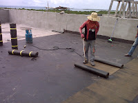 waterproofing membrane bakar atap