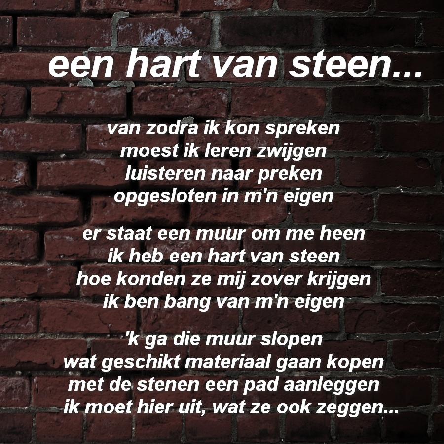 Citaten Hart Van Steen : Gedichten in beeld een hart van steen