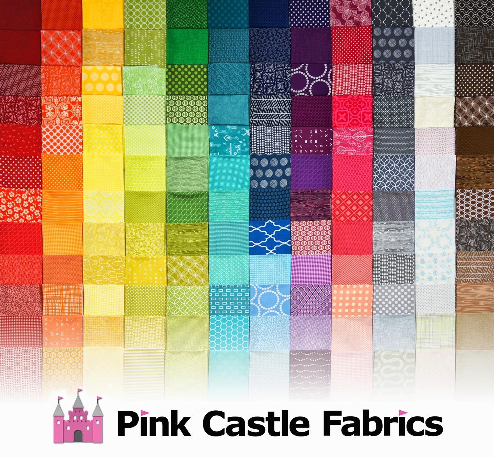 Pink Castle Fabrics Stash Stack Club