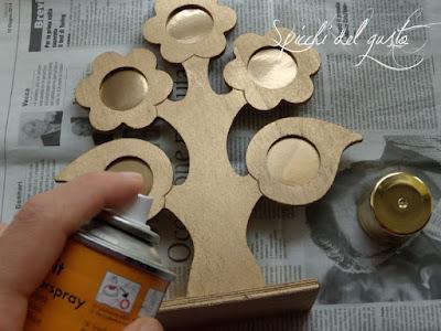 vernice acrilica spray oro lucido