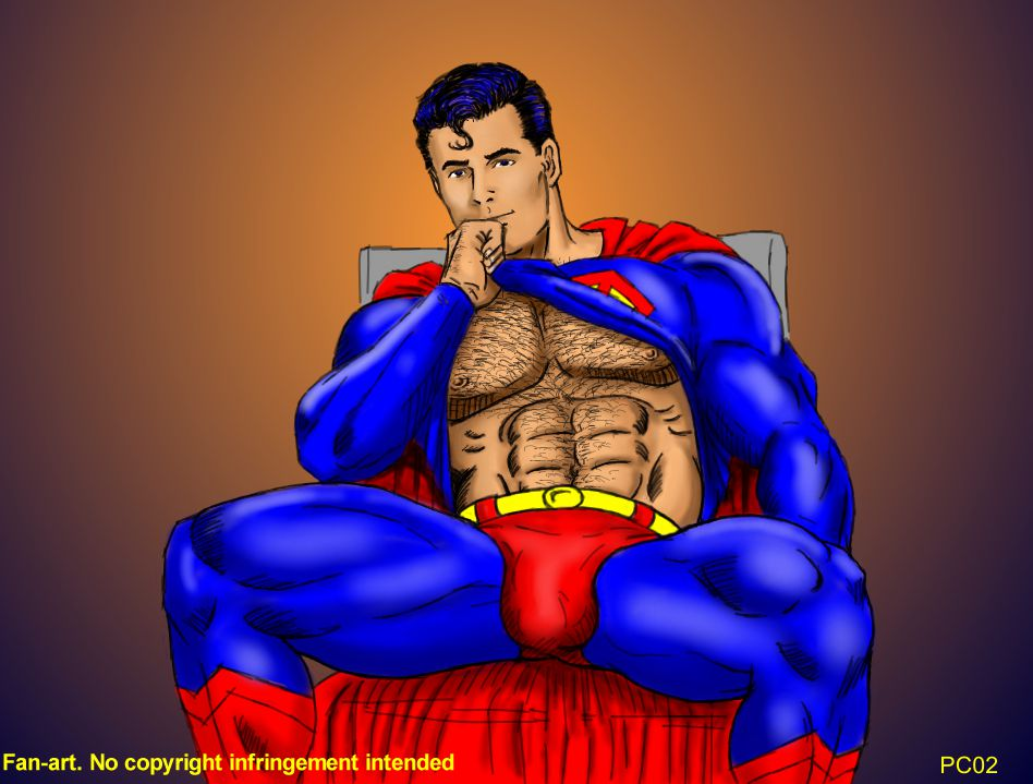 sexy-nude-superman