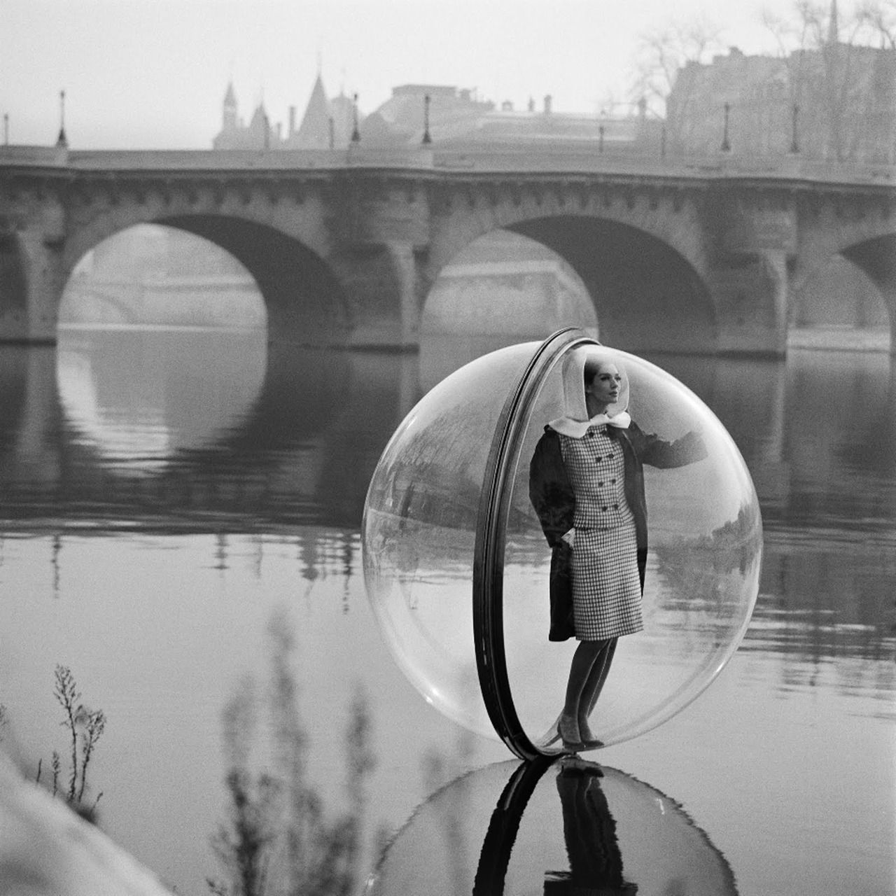 In 1963 melvin sokolsky shot these iconic images for harper s