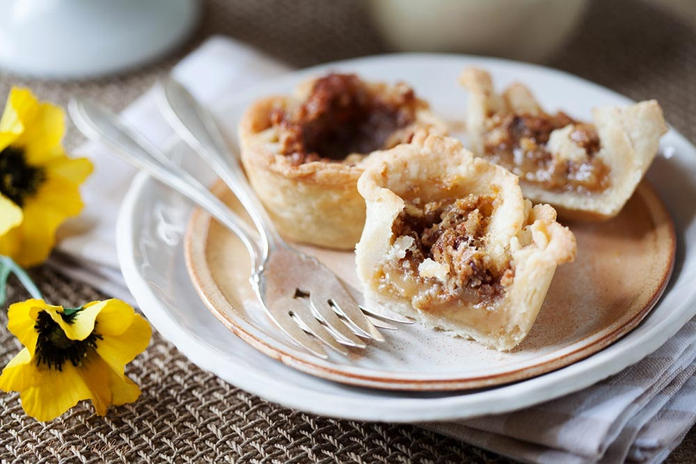how to make pecan butter tarts