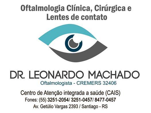Oftalmologista Leonardo Machado