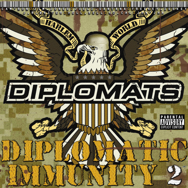 The Diplomats - Diplomatic Immunity 2  Cover