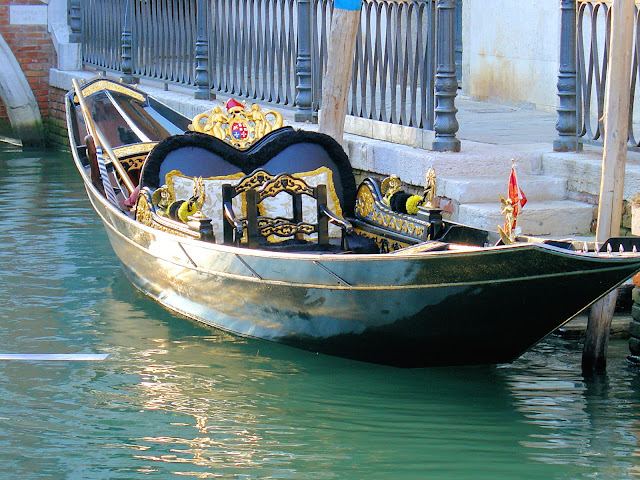 The pièce de résistance when it comes to getting around in Venice—the legendary gondola.