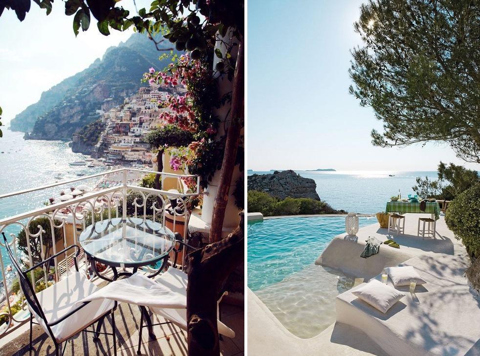 ibiza island balcony view paradise