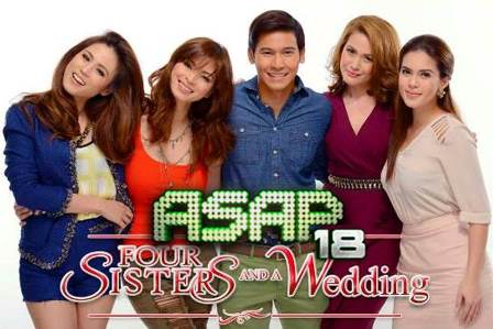 Angel, Bea, Toni, Shaina and Enchong Glitter Up ASAP 18 (June 23)
