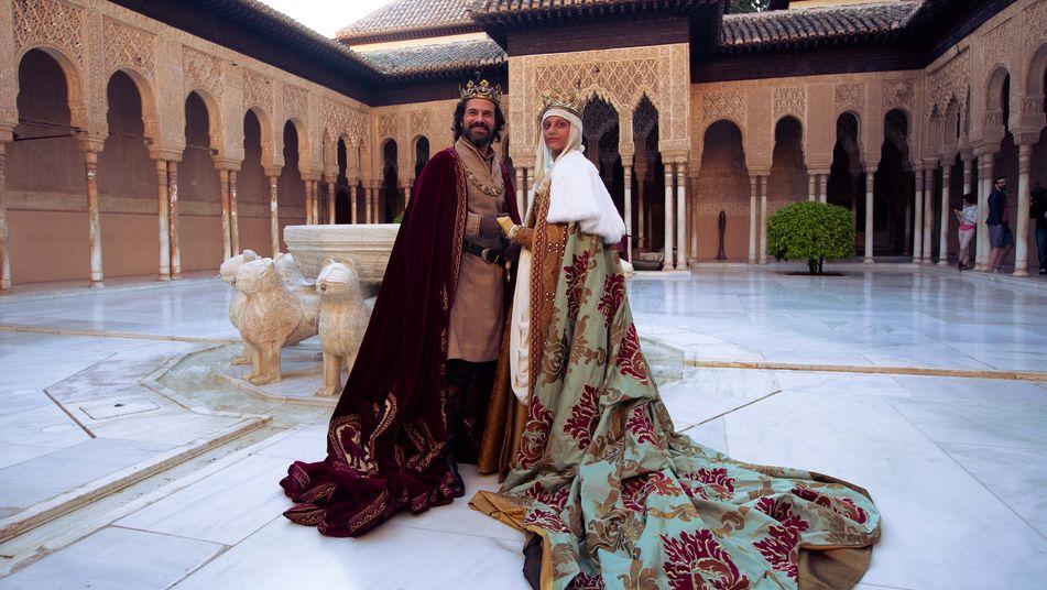 Los reyes Católicos en Granada