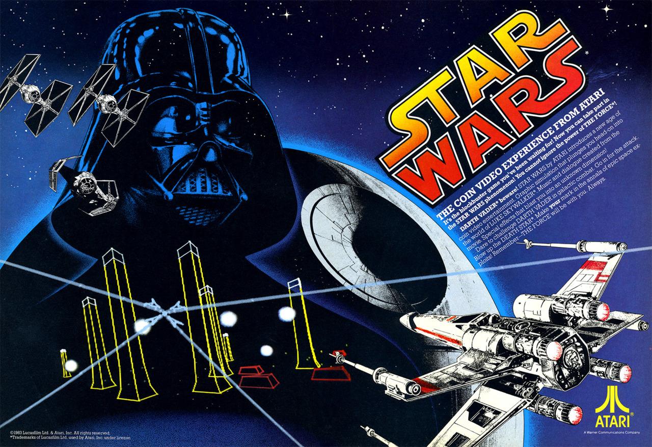 star wars arcade 1983
