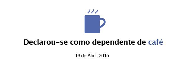 Status do dia: quero café