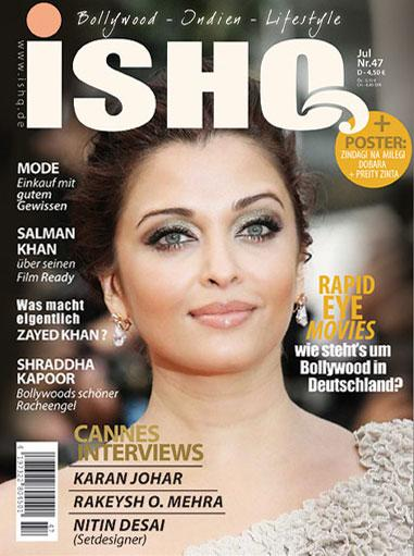 Aishwarya Rai  - Aishwarya Rai On Ishq Magazine Cover 2011 Edition