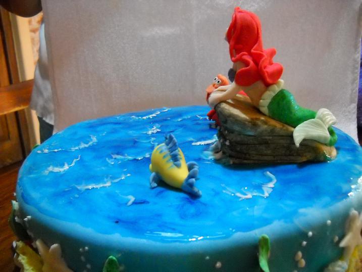MuyAmeno.com: Tortas de La Sirenita para Fiestas Infantiles