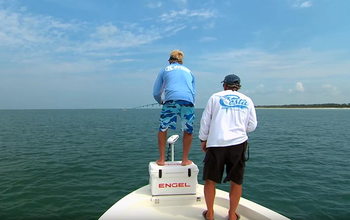 St. Petersburg January Fishing Report with Capt. Tommy Z