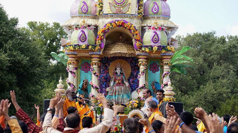 Jagadguru Shree Kripalu Ji Maharaj's Radha Madhav Dham Rath Yatra