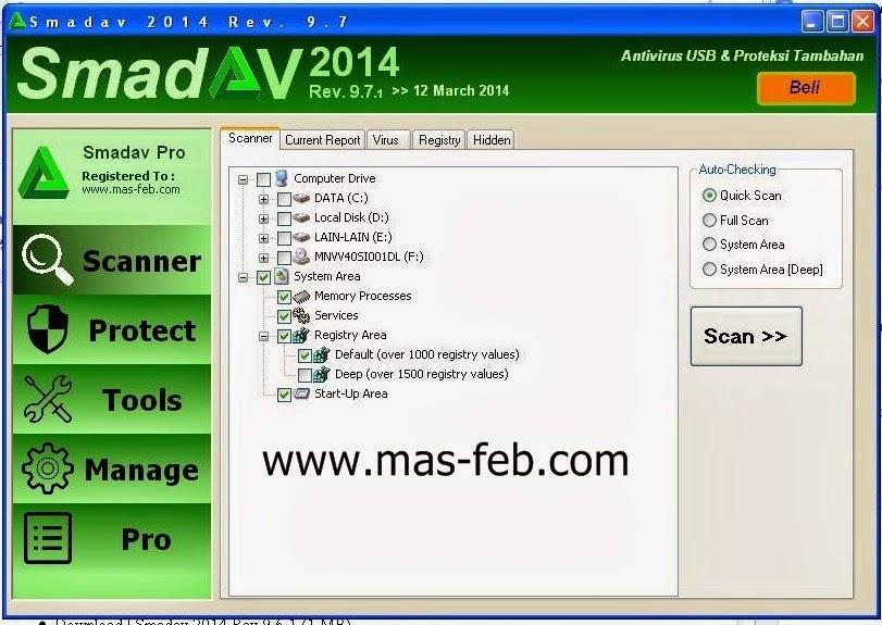 Download Smadav Pro 2014 Full Version With Keygen