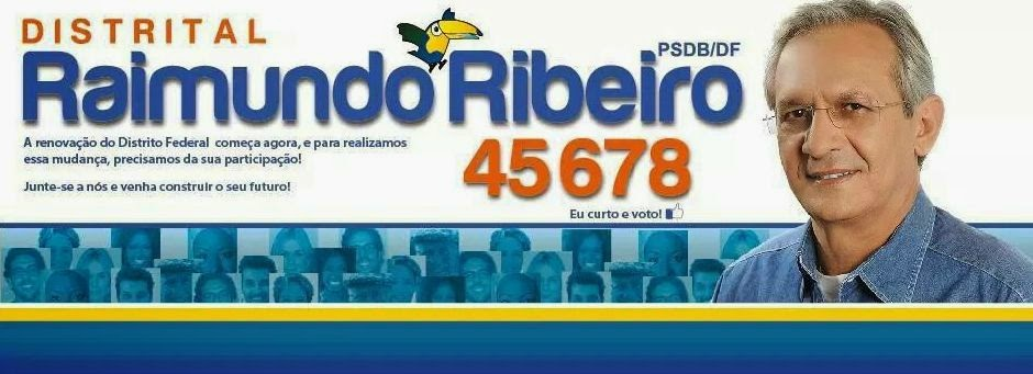 Raimundo Ribeiro 45678 -- PSDB