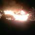 Dua Rumah di Sungai Piring Ludes Terbakar