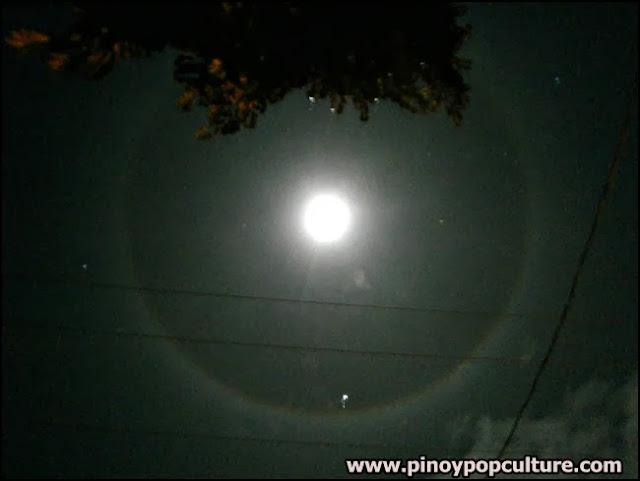 moon halo, moon ring, astronomical phenomenon