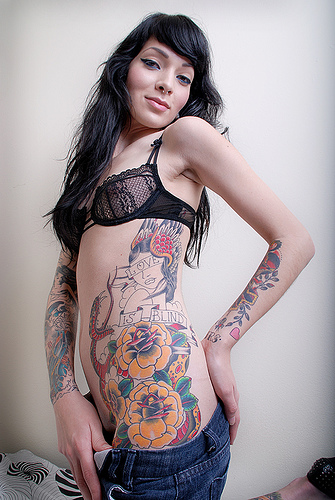 Tattoo Art Designs for Hot Girls