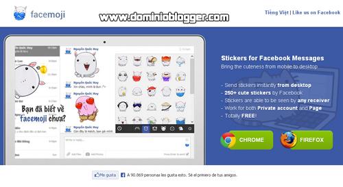 Consigue emoticones para Facebook gratis con Facemoji