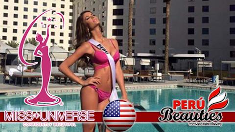 Primeras imágenes de Perú en Miss Universe 2015