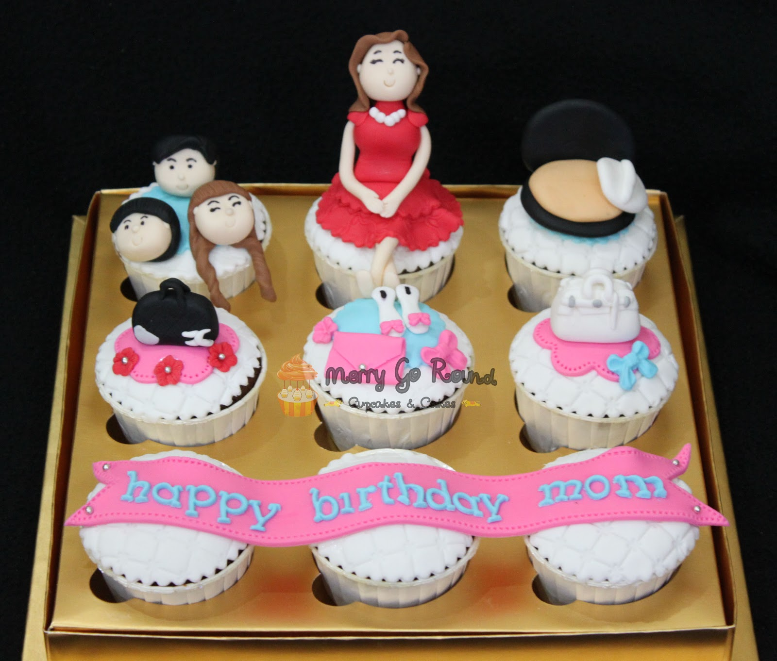 Merry Go Round Cupcakes Cakes Birthday Cupcakes for