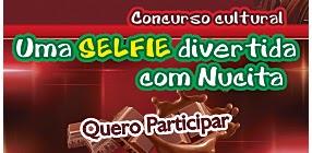 "Concurso Cultural: ""Uma Selfie divertida com Nucita"" - Concorra a  um Iphone 5C!"
