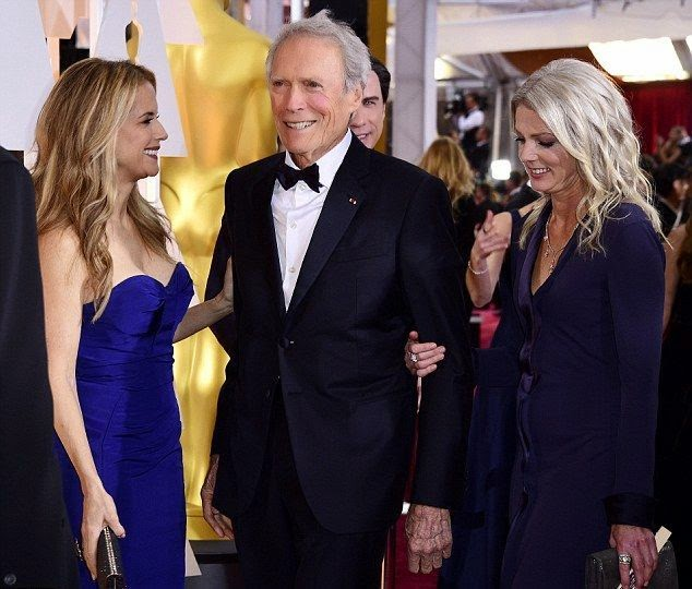 the 84-year-old explored those everything truth on the Oscar's 2015 red carpet at the Dolby Theater in Hollywood on Sunday, February 22, 2015.  The actor appeared a very fresh and healthy in a dark tuxedo while his beloved spouse, Christina Sandera drawing her beauty in a matching long gown.