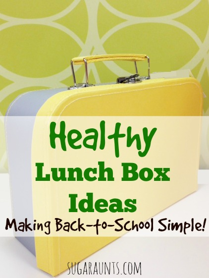 Send the kids back to school with a lunchbox full of healthy foods.