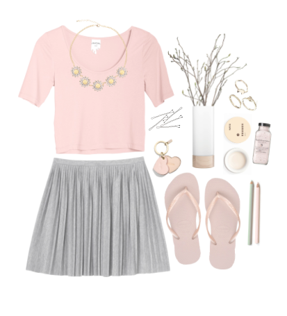 pink outfit fashion style design webdesign