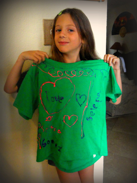Inspire kids to design their own t-shirts!