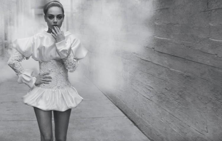Mila Kunis Black Swan fashion editorial