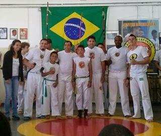 1º Batizado de Capoeira escola Abolição