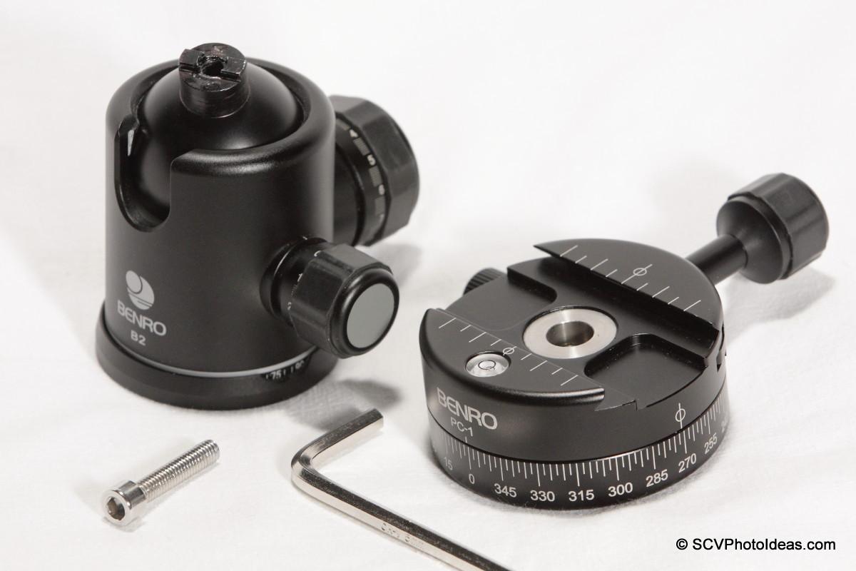 Benro PC-1 & Benro B-2 w/ tools