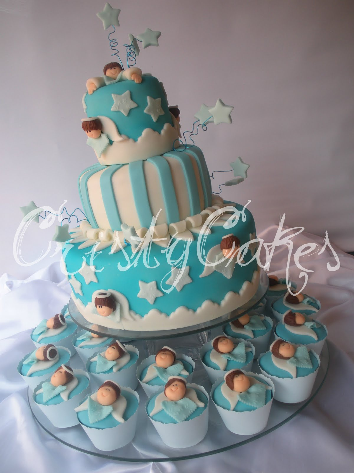 Cristy's Cakes: Baby Shower, Es un varón / It's a Boy
