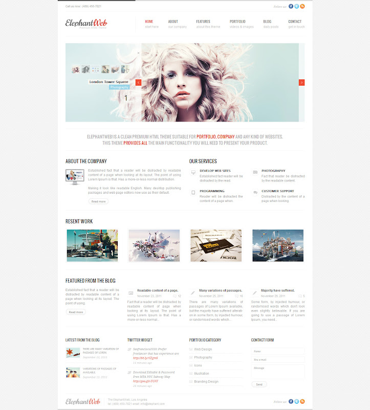 HTML-CSS-Website_Templates