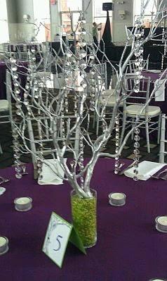 Centros de Mesa con Cristales, parte 2