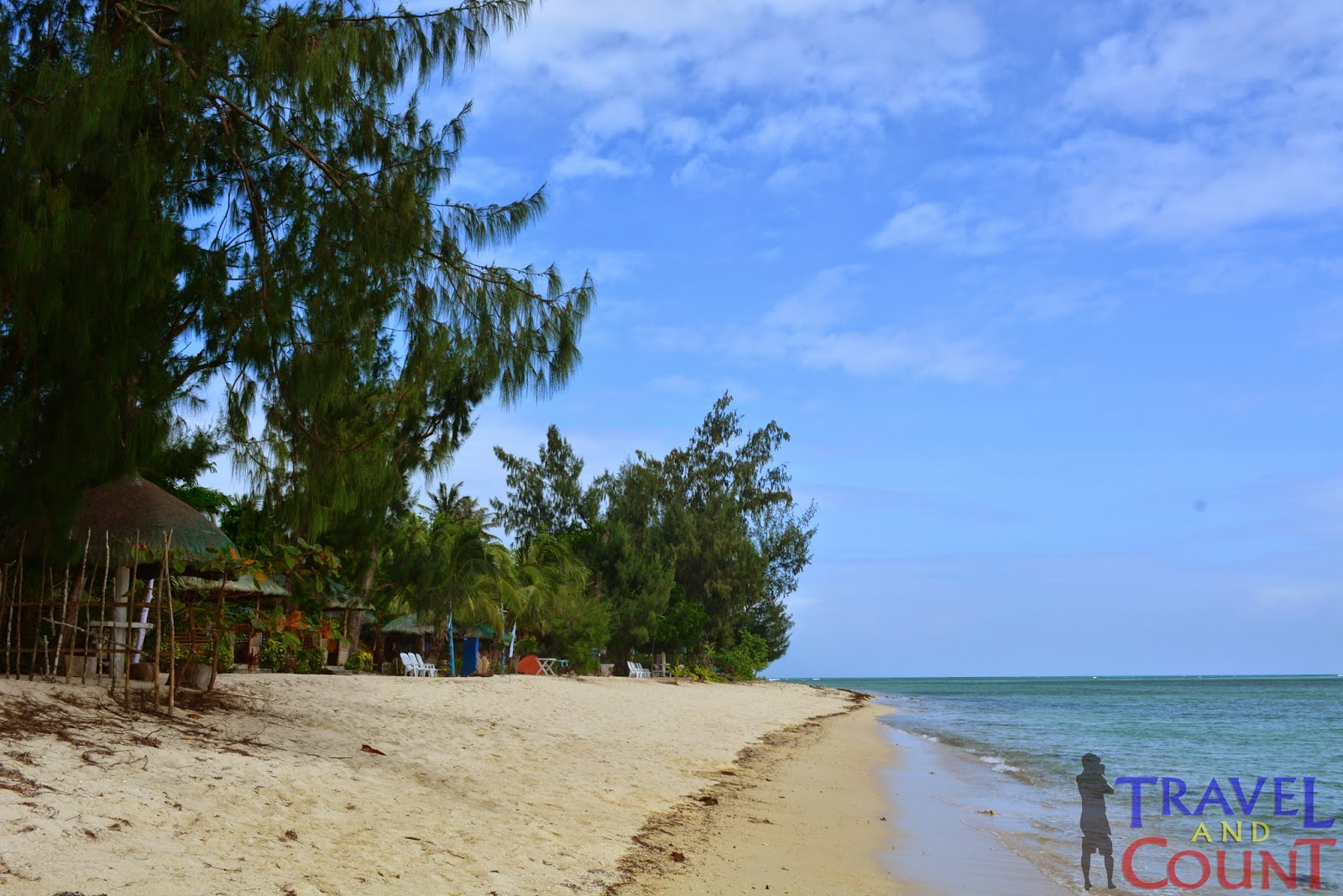 Joven's Resort's beach front, Cagbalete Island