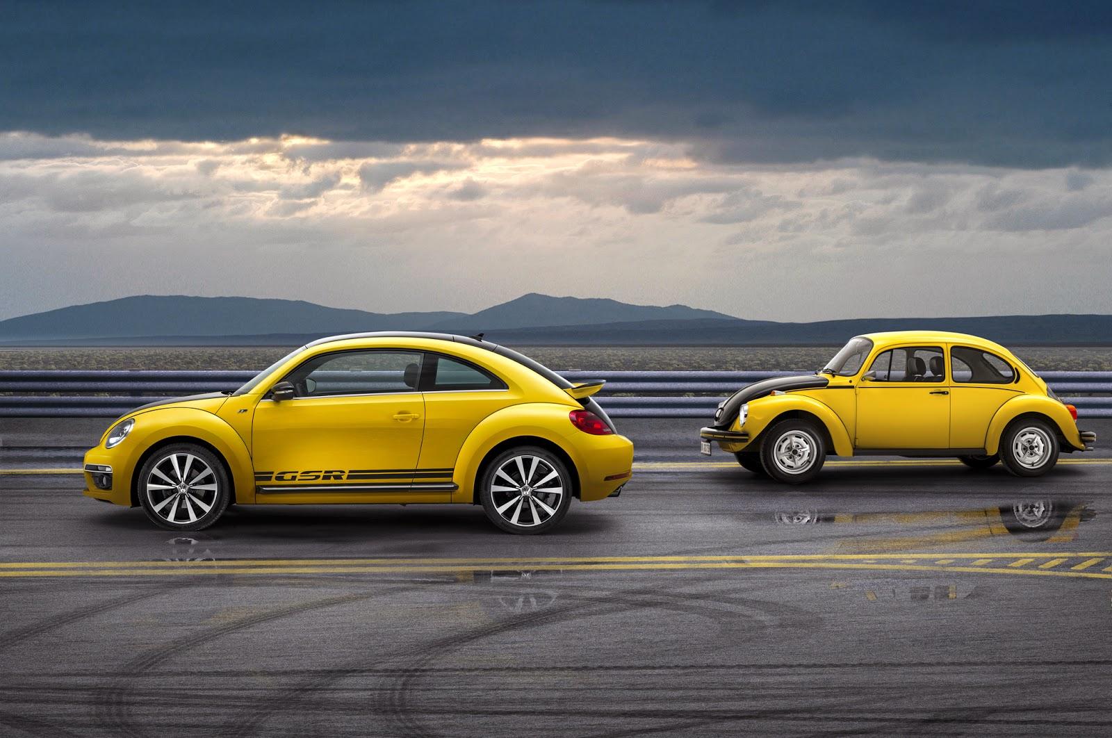 2014 Volkswagen Beetle GSR and Classic Beetle