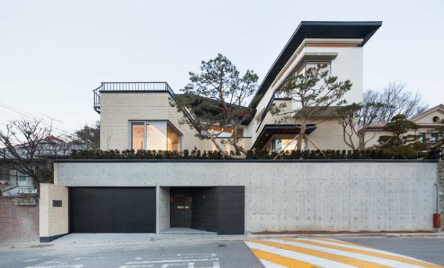 contoh gambar-gambar design rumah moden yang cantik menarik dan terkini, rekabentuk design rumah moden yang terkini dan menarik, rumah moden,