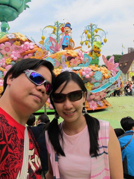 South Korea Seoul Everland parade