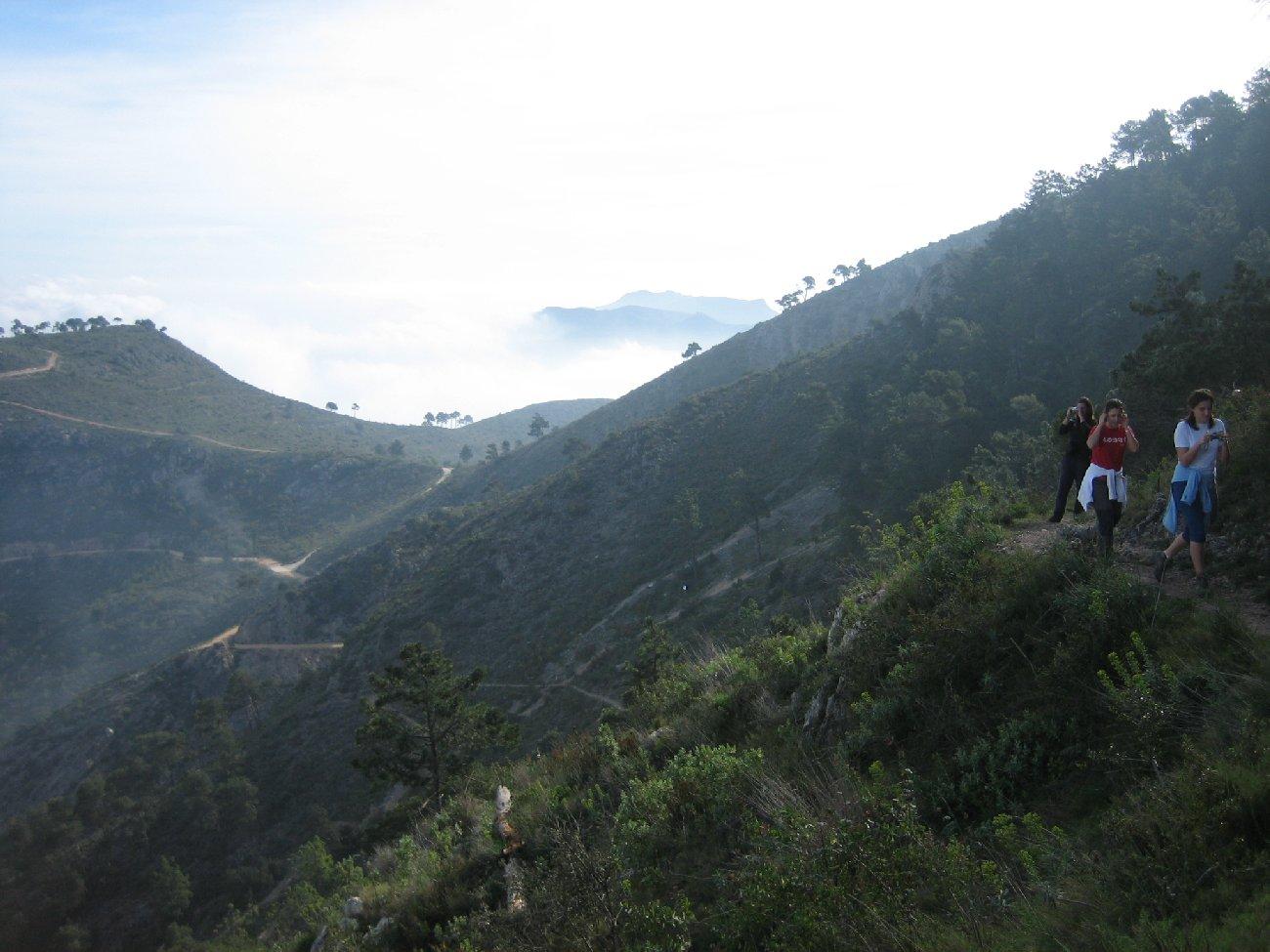 Camí del cim del Benicadell