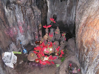 Shiva Linga at Borra Caves Andhra Pradesh