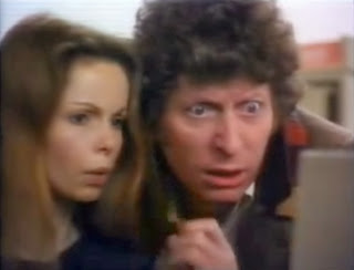 Tom Baker and Lalla Ward