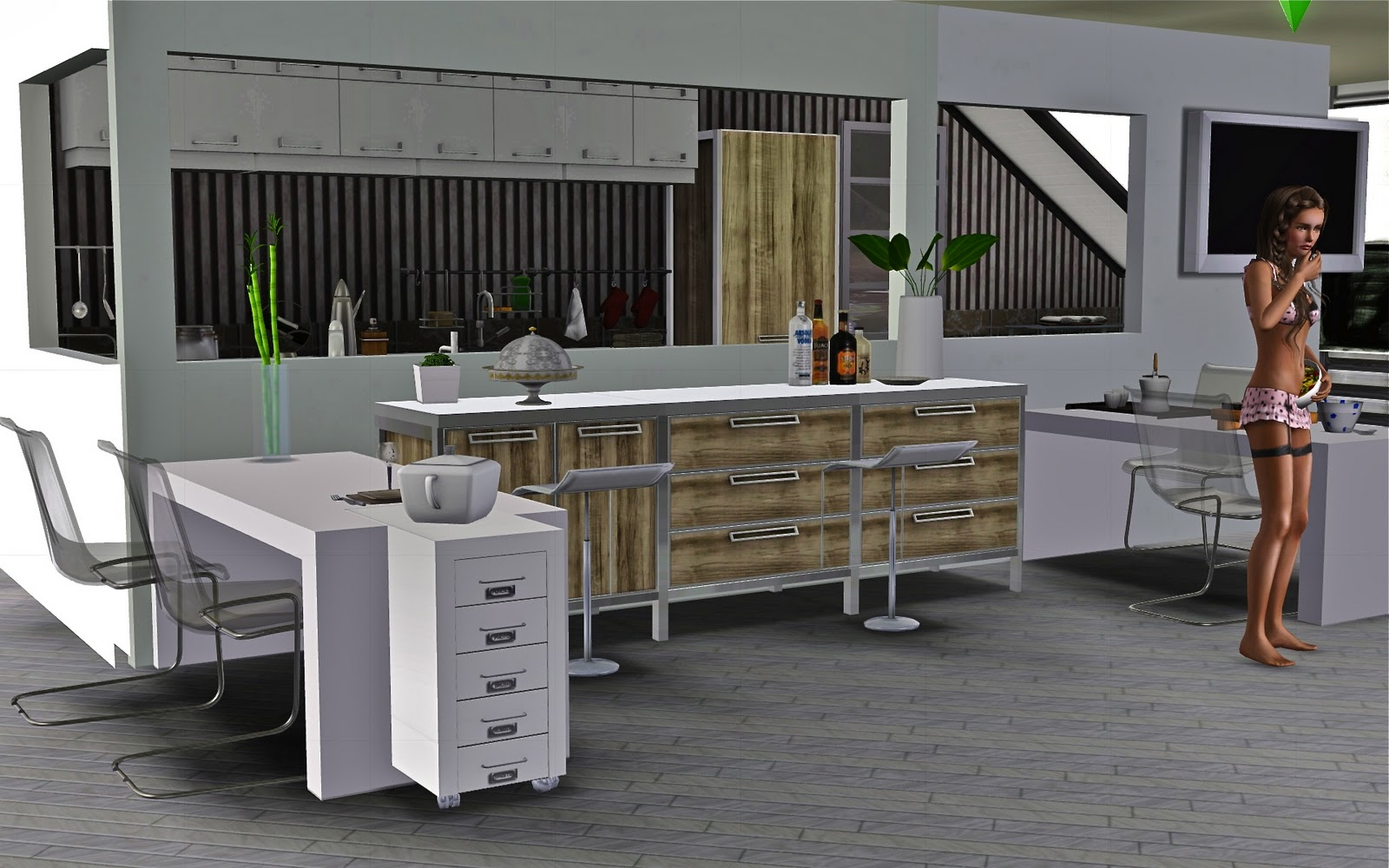 Le blog de guijobo ambiance cuisine moderne for Ambiance cuisine